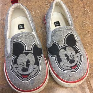 3 FOR $15 SALE!!!   Disney Gap Mickey Sneakers